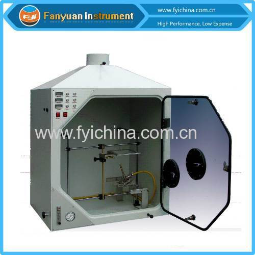 IEC AND ISO Fabric Horizontal/Vertical Flammability Tester