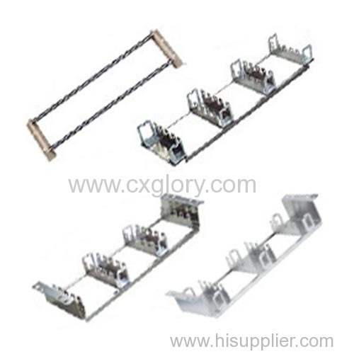 19 inch Stainless Steel Krone Back Mount Frame For Cabinet