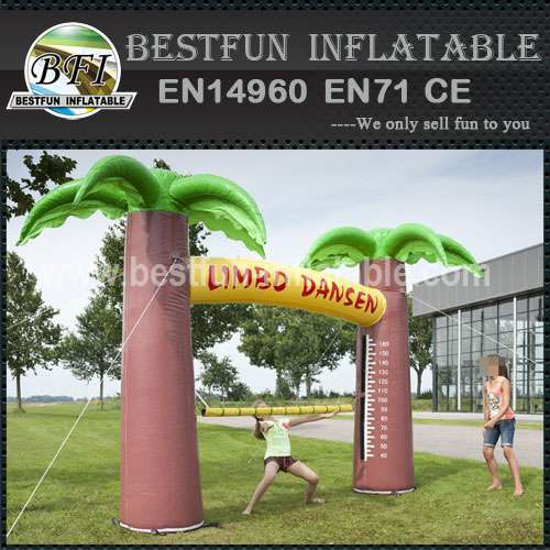 Inflatable interactive game sports