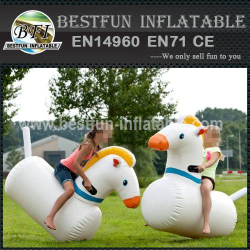 Commercial inflatable interactive games