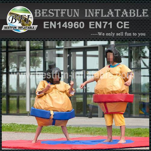 Best quality inflatable sumo suit