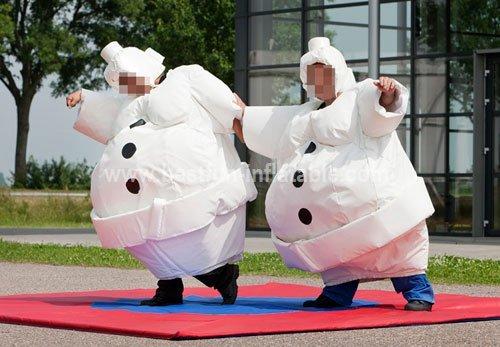 Costume Sumo Snowman Suit