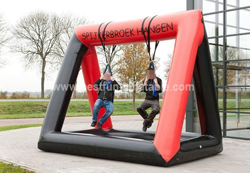 Game inflatable climbing jeans