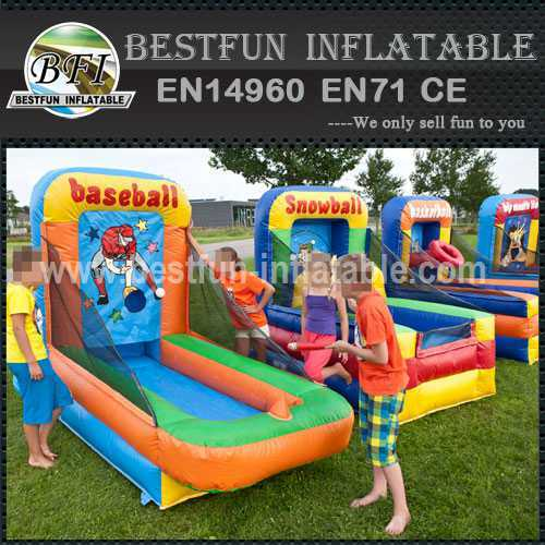 Inflatable interactive sport game