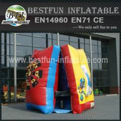 Inflatable interactive shooting game