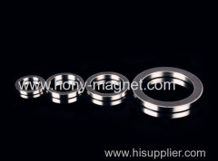 Ni coating neodymium n35 ring magnet