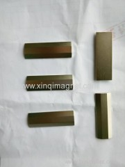 Irregular Magnets processed by Wire Cutting and Grinding