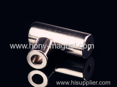 Permanent sintered nickel neodymium magnets