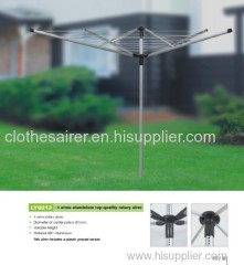 Rotary Clothesline Airer Garden washing line Outdoor clothes airer
