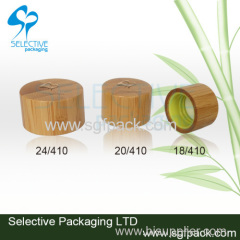 bamboo cap screw cap