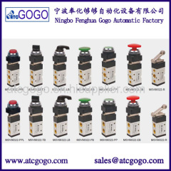 5 way 3 way Mechanical control gas valve 1/4 inch pneumatic have valve