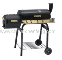black iron light duty bbq smoker grills
