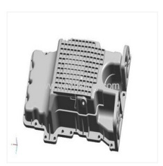 aluminum die casting oil pan for auto car parts