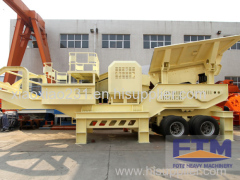 Wheeled Impact Crusher Machine
