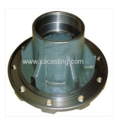Ductile Cast Iron / Carbon Steel Wheel Hub For Trailer & Truck NC Machined Metal Parts