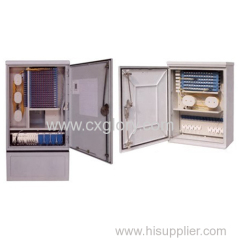 96 Cores Fiber Optic Cabinet