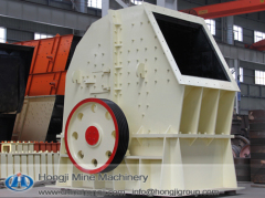 Hongji hammer crusher with a large capacity