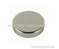 Sintered permanent cylinder ndfeb magnet
