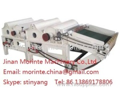 Textile fabric recycling machine