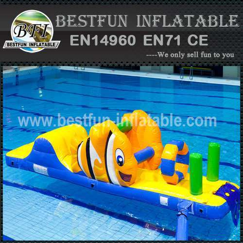 Air tight inflatable water park