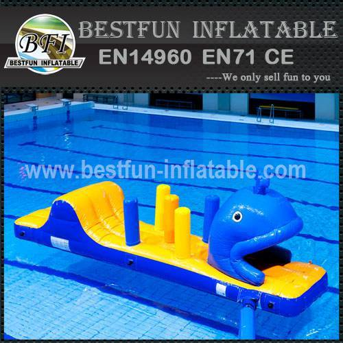 Adult floating inflatable water park