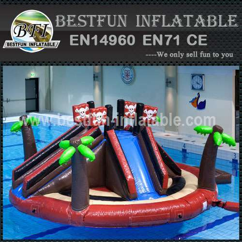 Backyard inflatable water park