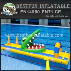 Big inflatable water park equipment