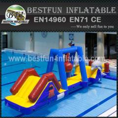 Luxurious inflatable water park