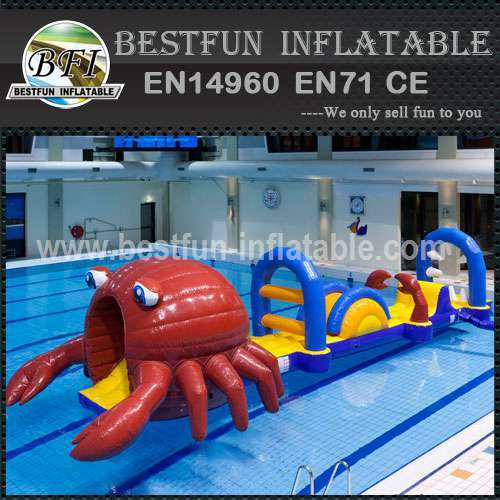 Chinese inflatable water park