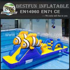 Design inflatable amusement water park