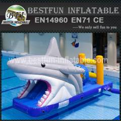 Discount small inflatable water park