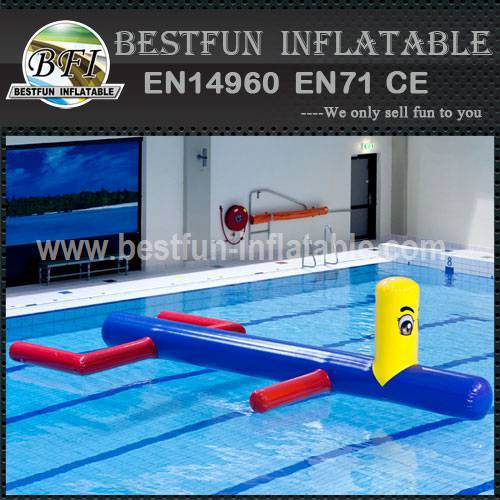 Economical inflatable water park