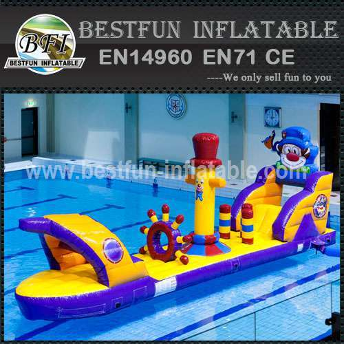 Exciting kids floating water slide toys