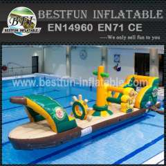 Floating jumping water bouncer toys