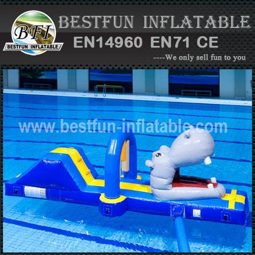 Adult inflatable water park equipment