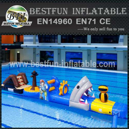 Giant inflatable equipment park