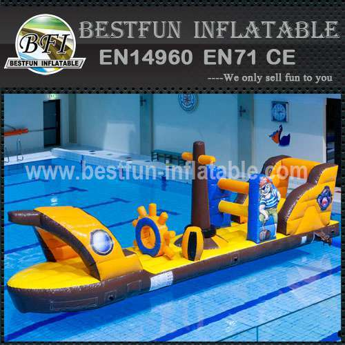 Giant floating water toys