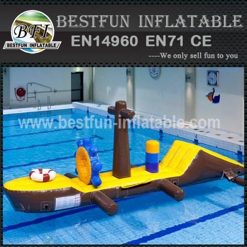 Inflatable aqua water park