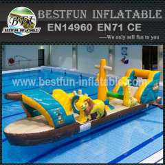 Lake inflatable floating water toys