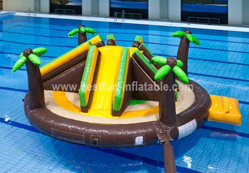 Arctic islands inflatable water park