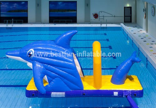 Cheap backyard inflatable water park
