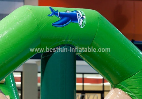 Chilren commercial inflatable water park