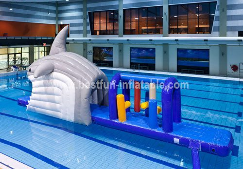Classical inflatable water park games