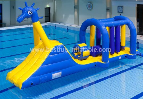 Commercial inflatable water slide park