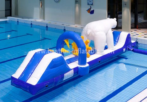 Custom commercial inflatable water park