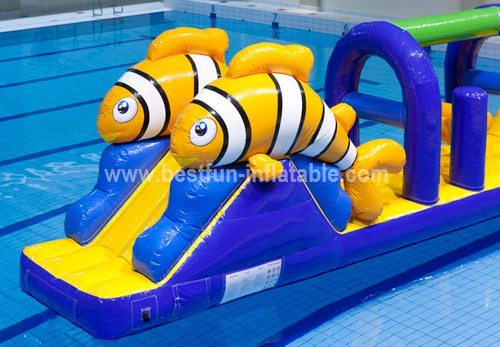 Hot selling inflatable combo water park