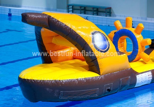 Inflatable floating water toys
