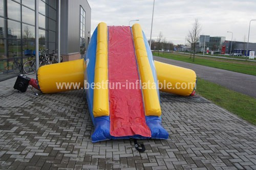 Inflatable kids water park
