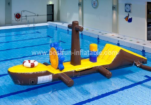 Inflatable water playground games