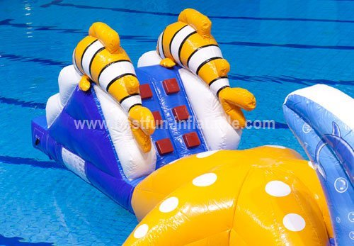 Inflatable water sports park